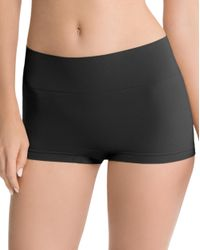 Ann Taylor | Black Spanx Everyday Shaping Boyshorts | Lyst