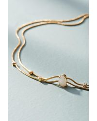 Anthropologie | White Trella Choker Necklace | Lyst