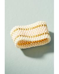 Sidai Designs - White Woven Ring - Lyst