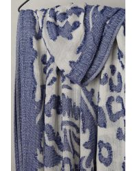 Anthropologie - Blue Tinta Spotted Infinity Scarf - Lyst