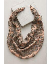 Mignonne Gavigan | Natural Dakota Pink Scarf Necklace | Lyst