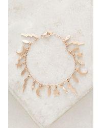 Andrea Fohrman | Metallic Nature's Elements Charm Bracelet | Lyst