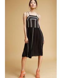 Antik Batik | Black Galiana Embroidered Dress | Lyst