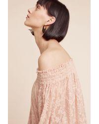 Deletta   Natural Sommer Off-the-shoulder Top   Lyst