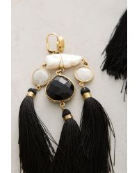 Gas Bijoux | Black Nighttail Tassel Drops | Lyst