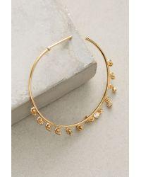 Anthropologie - Metallic Brinley Hoop Earrings - Lyst
