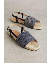 Anthropologie | Blue Castañer Julia Slingback Sandals | Lyst