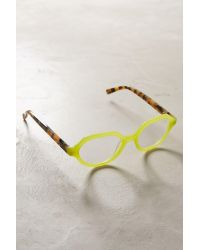Anthropologie | Green Clio Reading Glasses | Lyst