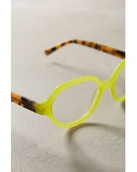 Anthropologie - Green Clio Reading Glasses - Lyst