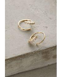 Anthropologie | Metallic Kiernan Mini Hoop Earrings | Lyst