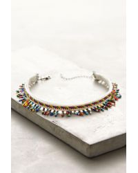 DANNIJO | Blue Willa Beaded Choker Necklace | Lyst