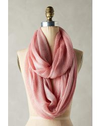 Anthropologie   Cameo Pink Knit Infinity Scarf   Lyst