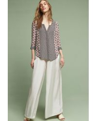 Tolani - Pink June Silk Top - Lyst