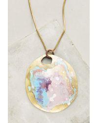 Sibilia - Metallic Springbeam Pendant Necklace - Lyst