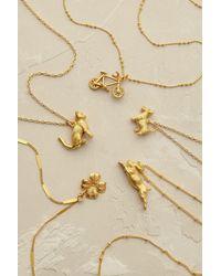 Mirabelle - Metallic Long Tresor Necklace - Lyst
