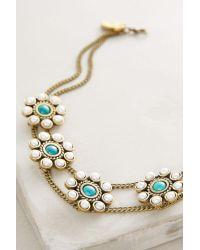 Lena Bernard - Metallic Desert Bloom Choker Necklace - Lyst