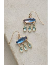 Anthropologie | Blue Ombre Flutter Earrings | Lyst