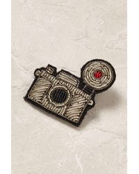 Macon & Lesquoy | Gray Photographer's Pin Badge | Lyst