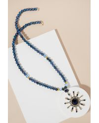 Anthropologie - Blue Starburst Necklace - Lyst