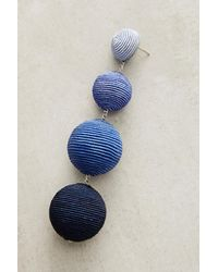 Suzanna Dai | Blue Ombre Orb Drop Earrings | Lyst