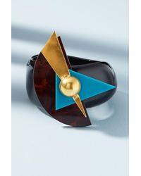 Katerina Psoma - Black Memphis Geo Cuff Bracelet - Lyst