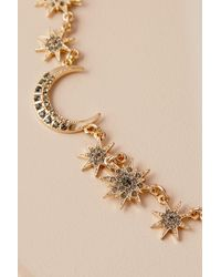 Anthropologie - Metallic Jozie Constellation Necklace - Lyst