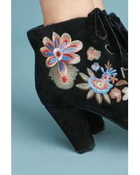 Chelsea Crew - Black Frida Embroidered Boots - Lyst