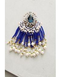 Shourouk | Blue Cobalt Cascade Drop Earrings | Lyst