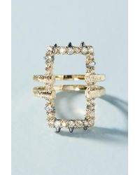 Alexis Bittar | Metallic Party Cocktail Ring | Lyst