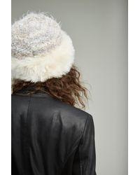 Anthropologie - Multicolor Kirstie Faux Fur Pillbox Hat - Lyst