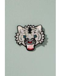Macon & Lesquoy - Multicolor Tiger Pin Badge - Lyst