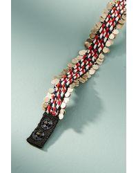 Olivia Dar | Red Oksana Cuff Bracelet | Lyst