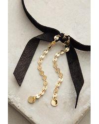 Lucky Star Jewels | Black Prim Choker Necklace | Lyst