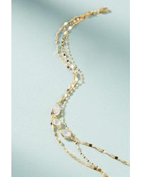 Anthropologie - Blue Janis Layered Y-necklace - Lyst