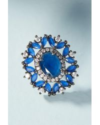 Serefina | Blue Beryl Post Earrings | Lyst