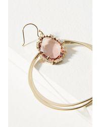Anthropologie - Pink Revival Drop Earrings - Lyst