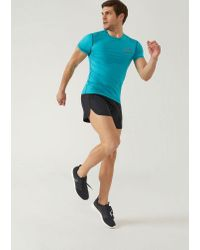 Emporio Armani - Black Shorts for Men - Lyst