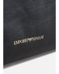 Emporio Armani - Black Hobo Bag - Lyst