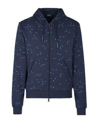 Armani Jeans | Blue Hoodie for Men | Lyst