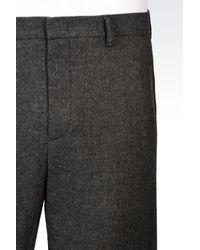 Emporio Armani | Gray Pant for Men | Lyst
