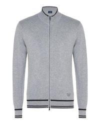 Armani Jeans | Gray Cardigan for Men | Lyst