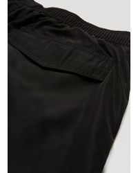 Emporio Armani - Black Beachwear Boxers for Men - Lyst