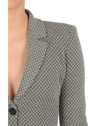 Armani - Gray Three Button Jacket - Lyst