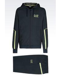 EA7   Blue Sweatsuit for Men   Lyst