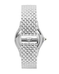 Emporio Armani | Metallic Swiss Made Watches for Men | Lyst