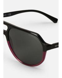 Emporio Armani - Black Sunglasses for Men - Lyst