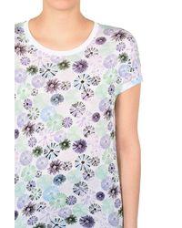 Armani Jeans | Blue Print T-shirt | Lyst