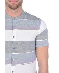 Armani Jeans - Purple Short Sleeve Shirt for Men - Lyst