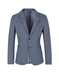 Armani Jeans - Blue Two Button Jacket for Men - Lyst