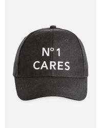0296c38759c94 Lyst - Ashley Stewart No One Cares Baseball Cap in Black